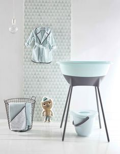 LUMA Misty Mint collection baby design
