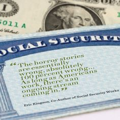 Co- Author of Social Security Works and professor at Syracuse University says social security is needed and well distributed. Syracuse University, Horror Stories, Social Security, Professor, It Works, Author, Teacher, Writers, Nailed It