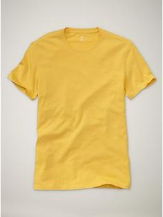Solid crewneck T from GAP, $16.95