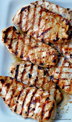 Grilled Chicken ~