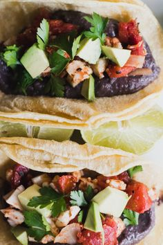 Vegan Cauliflower Black Bean Poblano Rancheros || The Free Spirited