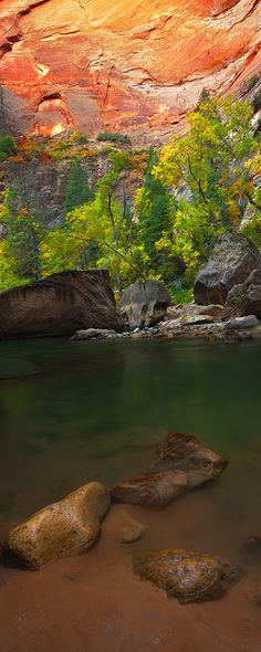 Virgin River Gorge, Zion National Park, Utah