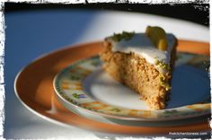 The Kitchen Lioness: CAKES AND VEGETABLES - PART I - European-Style Carrot Cake