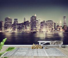 New York City Lights Tapet