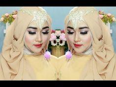 super Ideas for style hijab kondangan Tutorial Hijab Wisuda, Hijab Tutorial, Ripped Jeans Style, Hijab Makeup, Hijab Style Dress, Hair Without Heat, Wedding Hijab, Edgy Chic, Fall Dresses