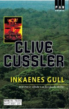 """""""Inkaenes gull"""" av Clive Cussler 'A Book you bought on a Trip'"""