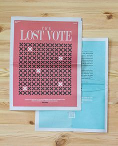 The Lost Vote on Editorial Design Served