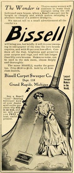 Bis Carpet Sweeper Ad From 1907