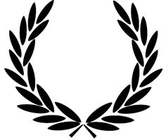 The brand founded by triple Wimbledon champion Fred Perry in 1952 and adopted by generations of British subcultures ever since. The Laurel Wreath is always worn as a badge of honour. Laurel Tattoo, Laurel Wreath Tattoo, Tatuagem Em Latin, Skinhead Tattoos, Fred Perry Jacket, Tattoo Sticker, Tattoo Designs, Tatuagem Old School, Clothing Logo