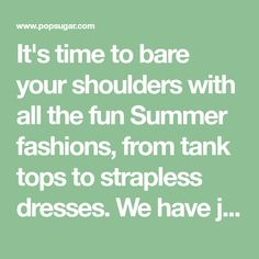 It's time to bare your shoulders with all the fun Summer fashions, from tank tops to strapless dresses. We have just the workout to help sculpt lovely arms,