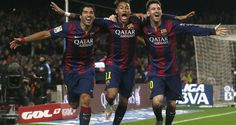 Suarez neymar and Messi..che trio fantastico