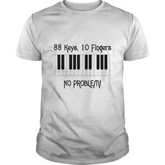 """Piano Lovers! This makes a perfect gift for the family and friends or a fun design for yourself. Choose from tees or sweatshirts. **Exclusive design, not sold in stores!"""