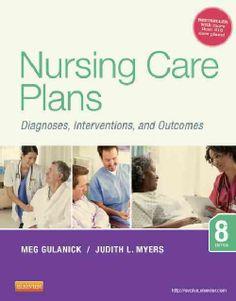 Comprehensive Nursing Care Plan Book for Nursing School