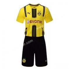 2016/17 Borussia Dortumund Home Yellow Soccer Uniform