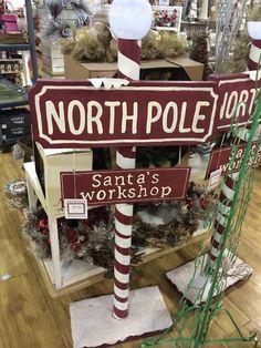 Image result for DIY north pole sign