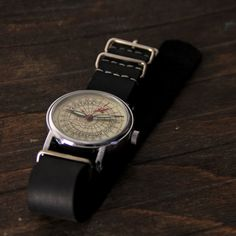 Very rare original vintage Soviet watch Raketa by Trulesorub