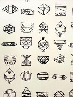 A SWEET SPIRIT geometric shapes