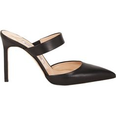 85ce2b394b8 Manolo Blahnik Women s Trovina Mules (£240) ❤ liked on Polyvore featuring  shoes