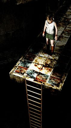 Silent Hill 3 - Mall before final Boss - Symbolism: Drown under Sex (Boss Represent Sex intercourse) & This is when Heather Pregnant.