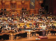 Gordon Stout: 100 Person Marimba Orchestra