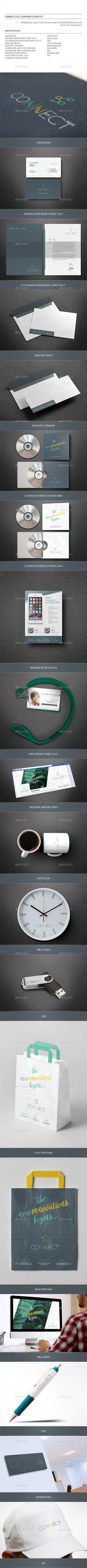 Web Design Corporate Identity | Corporate identity, Stationery ...