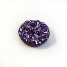 25mm/1 Faux Druzy Stone by Oeuvres on Etsy