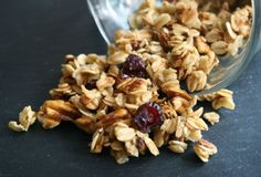 Related posts: Healthy Stovetop Blueberry Granola {G;uten-Free, Vegan} Apple Pie Granola {Gluten-Free} Maple Buckwheat Granola {Gluten-Free, Vegan, Awesome} The Granola Breakfast And Brunch, Breakfast Recipes, Nutritious Breakfast, Mug Recipes, Cooking Recipes, Healthy Snacks, Healthy Recipes, Microwave Recipes, Gluten Free Sweets