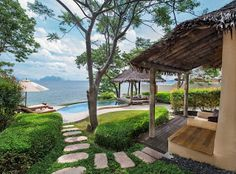 Easy travel with Champtrip: Luxury asian-style vacation at the Naka Island