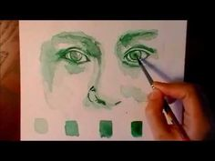 Watercolor Eyes Tutorial- Speed Painting