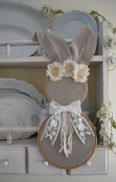 Crafts To Make, Arts And Crafts, Diy Crafts, Spring Crafts, Holiday Crafts, Some Bunny Loves You, Prim Decor, Ideias Diy, Easter Projects