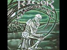 Rigor sardonicous-Wall of darkness with lyrics in description