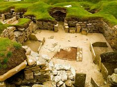 Skara Brae, Orkney    Photograph by Paul Sutherland    Archaeology received a gift from nature in 1850, when a strong storm hit the Orkney Islands, stripping away sand dunes and uncovering the remains of the Skara Brae settlement. Later excavations would reveal a complex of stone houses linked by passageways that dates to between 3200 and 2500 B.C. It's considered the best preserved Neolithic village ever found in northern Europe and is a World Heritage site.