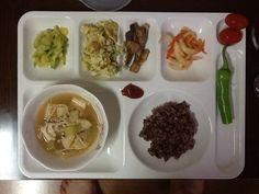 7/23 아침식단 된장국 현미밥 계란볶음