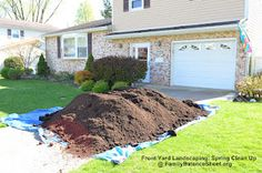 Front Yard Landscaping: Spring Clean Up.