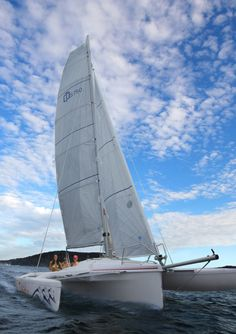 The deck has been totally redesigned, it's styling is sleek, fresh and modern. The Sprint 750 MK II and the DASH 750 are the two best, most fun, fast and exciting boat's Corsair has ever built. - See more at: http://sail.corsairmarine.com/corsair-sprint-750-mk-ii #sprint750mkii #corsairmarine #sailing