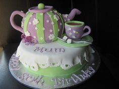 Teacups...you could add little teacup cupcakes too!
