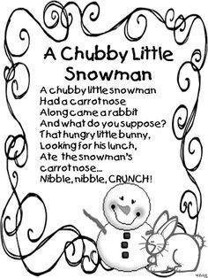 christmas poems for preschoolers - Buscar con Google