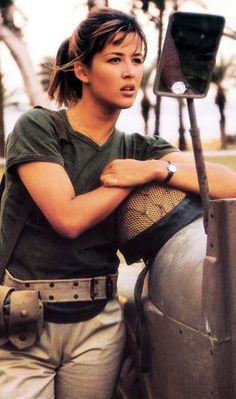 Sophie Marceau in Pour Sacha directed by Alexandre Arcady, 1991