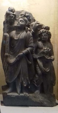 Worshippers, century CE, Sikrai, Gandhara School of Art, Government Museum and Art Gallery in Chandigarh 1st Century, Chandigarh, Indian Art, Art School, Consciousness, Pakistan, Buddha, Flow, Art Gallery