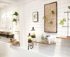 kickstarter campaign spruitje - April and mayApril and may Bar Interior Design, Cafe Interior, Terrarium, Amsterdam, Joinery Details, Scandinavian Living, Vintage Lamps, Restaurant Design, Bella Restaurant