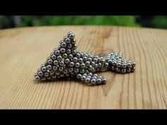 Dolphin from magnetic balls. Jewelry Model, Beaded Animals, Diy Crafts To Sell, Stud Earrings, Things To Sell, Bucky, Beads, Cube, Youtube
