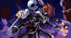 Sora and Jack Skellington. I really liked his limit, Applause, Aplause. I think its my favourite