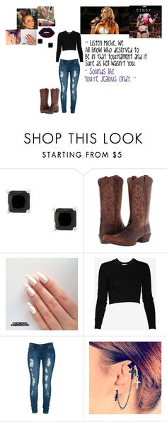 """""""🐈 Cindy Dark 🐈 Calling Out Mickie James ❌ READ DESCRIPTION ❌"""" by iron-maiden-amy ❤ liked on Polyvore featuring Ariat, Torn by Ronny Kobo, Criminal Damage, WWE, raw, wweraw and wweoc"""