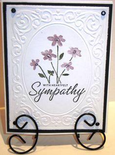 judysusa heartfelt sympathy by judysusa - Cards and Paper Crafts at Splitcoaststampers