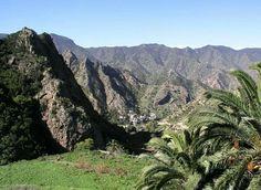 Isla La Gomera, ( Canary Island ).