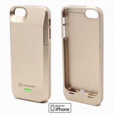 This stylish two-piece rubberized case does more than just protect your iPhone 5s, the Lenmar Meridian Power Case increases your iPhone 5s� battery life. Use it on the iPhone 5 and the iPhone 5s to give your phone a sleek and functional set of armor. Specs: For iPhone 5 and 5s | Doubles battery life | Apple approved | MFI certified | LED indicator | Cutouts for camera and buttons | Li-poly battery | 3.7V/2300mAh (8.5Wh) | Input: 5V/500mA | Standby time: Up to 359 hours | Talk time: Up to 13…