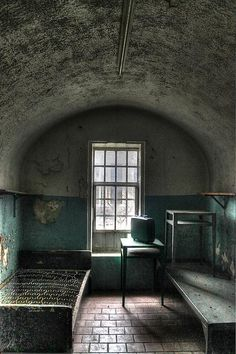 Missouri State Penitentiary Prison Cell. #prison #jail #cell