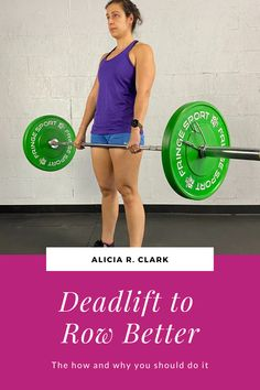 Alicia R. Clark | There are lots of movements out there to build strength. Deadlifting has a lot of parallels with rowing with similar muscle groups being used so they are easy to relate to each other. #rowingmachine #rowingtraining #strengthtraining #rowing Strength Program, Indoor Rowing, Strong Back, The Descent, Muscle Groups, Strength Training, The Row, Wellness, Easy