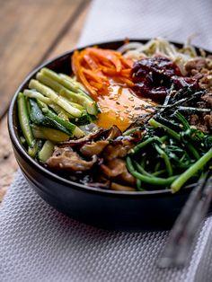 비빔밥 - 한국 음식