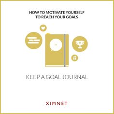 Method 4: Keep A Goal Journal  Writing down your goals and reflecting regularly on their progress helps you to both focus on the desired outcome and holds you accountable  #motivation #goals #dreams #creative #DreamBIG #NoFear #success #life #inspiration #journal